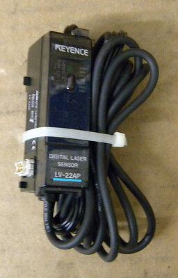 Keyence Lv-22ap Digital Laser Sensor Lv22ap