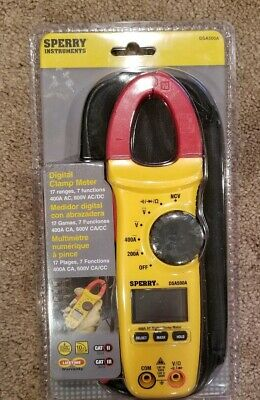 Nip Sperry Instruments Digital Clamp Meter Snap Around Dsa500a With Bag