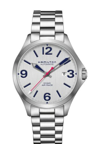 New Hamilton Khaki Aviation Air Race White Dial Men