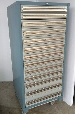 Commercial Heavy Duty Storage Tool Shop Equipment Cabinet Bin - 13 Drawer