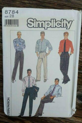 SIMPLICITY VINTAGE SEWING PATTERN: MEN