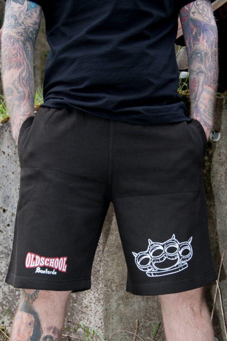 Short Oldschool Bastards - Street War kurze Hose für biker, hooligans, ultras
