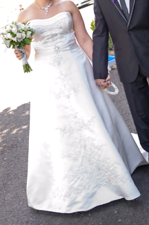 Make an offer: Size 16/18 Angeline Brand Ivory Wedding Dress
