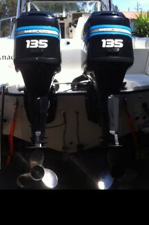 Twin 135 Mercury optimax XL