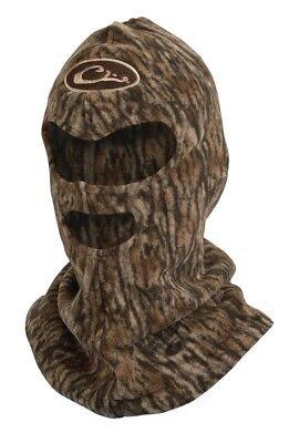 97a584da24619 Drake Waterfowl MST Mid-Season Fleece Mossy Oak Bottomland Camo Facemask