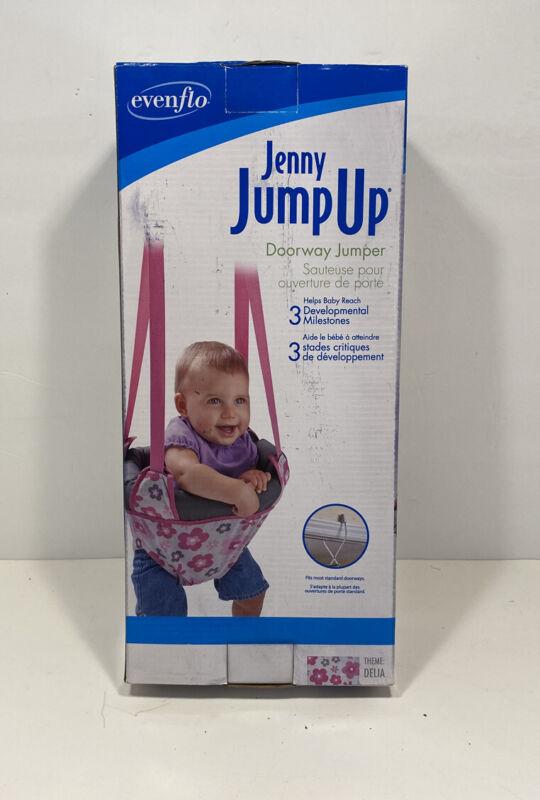 Evenflo Baby Door Jenny Jump Up Pink Doorway Jumper Toddler Baby