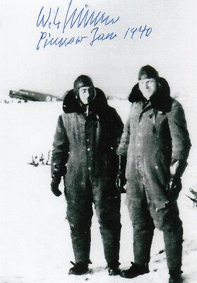 Luftwaffe first and only JET BOMBER Kriessmann Arado Ar234 Pilot SIGNED PHOTO