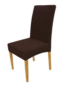 6 Colors - SUREFIT Stretch Short Dining Chair Cover - Machine Washable - NEW