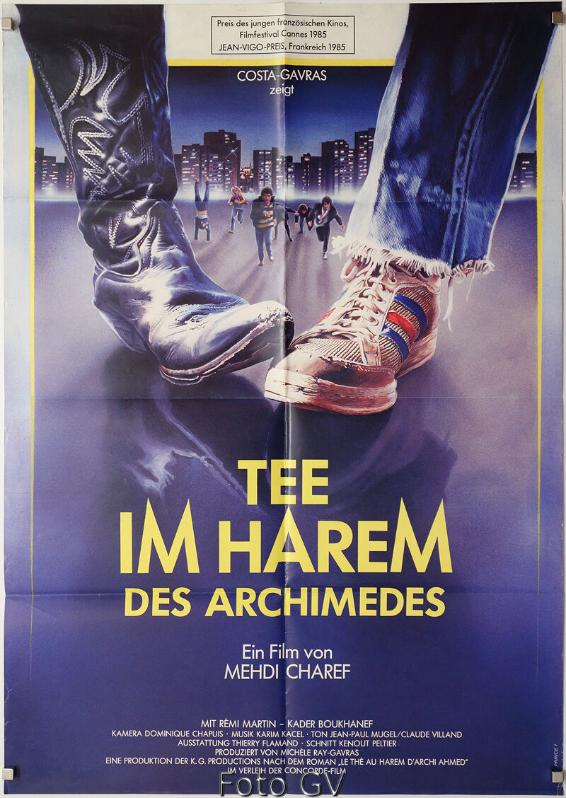 Tee im Harem des Archimedes|Thé au harem d'Archimède 1985 Charef Or.-Kinoplakat