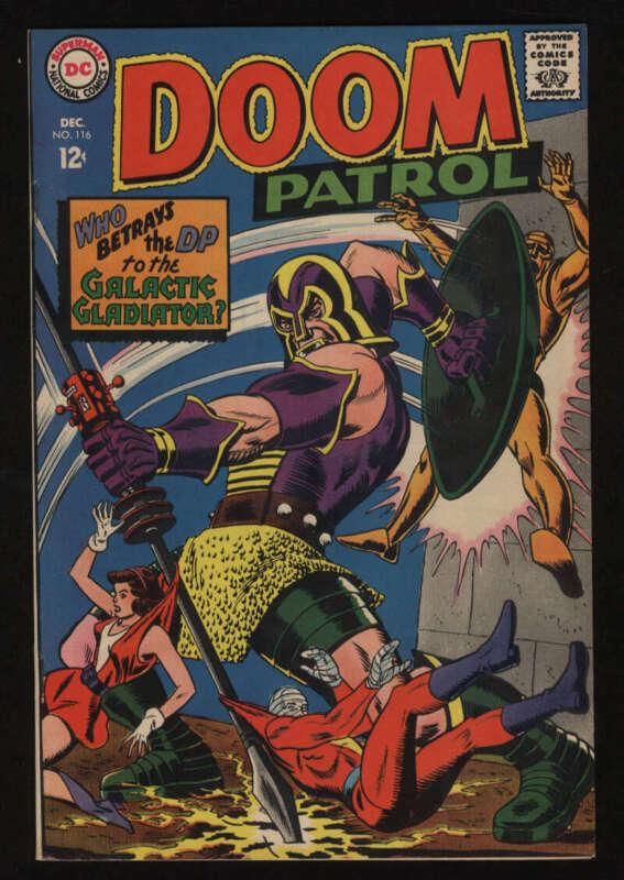 Doom Patrol #116 VF- 7.5 OW Pgs DC Comics