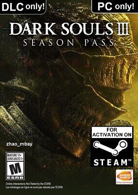 Dark Souls III 3 Season Pass PC Steam Key FAST SENT! [NO BASE GAME] [KEY ONLY!] comprar usado  Enviando para Brazil