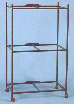 "3 Tiers Stand for 30'x18'x18"" Aviary Bird Cage Black -4164-658"