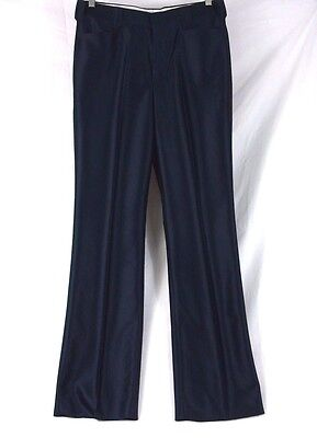Wild Horse Bronco Western Style Cowboy Dress Pants Navy #P-1001 Size 33 360H