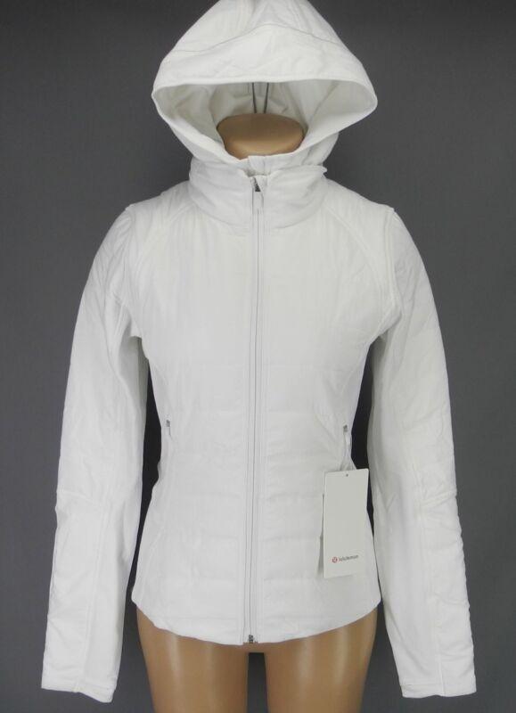 NEW LULULEMON Extra Mile Jacket 4 6 8 10 12 White FREE SHIP