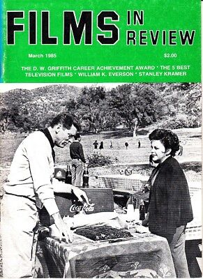 Films in Review March 1985 5 Best Television Films Stanley