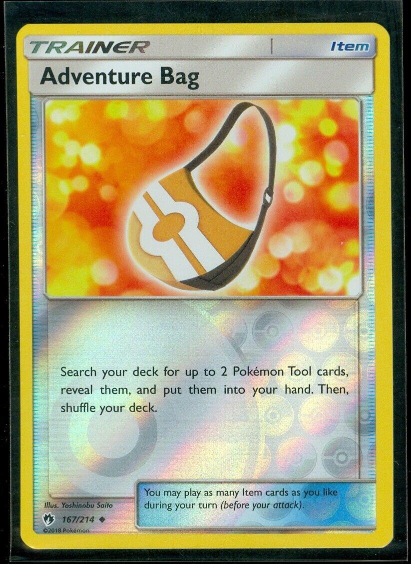 Pokemon ADVENTURE BAG 167/214 - Lost Thunder - Rev Holo - MI