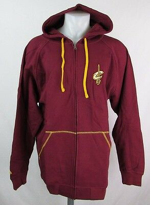 Cleveland Cavaliers Men's Big & Tall LT Full-Zip Embroidered Hoodie NBA A8TR ()
