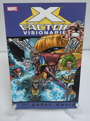 X Factor Visionaries Vol 4 Peter David Marvel Tpb Brand New Trade Paperback Book