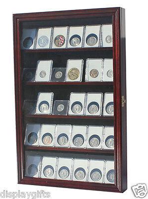 Collector Ngc Pcgs Icg Coin Slab Display Case Rack Wall C...
