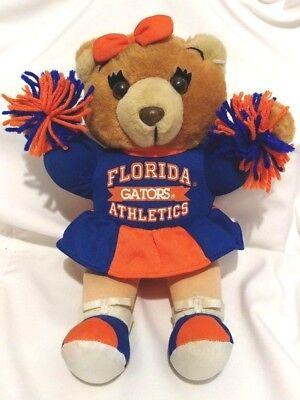 NCAA Florida Gators Cheerleader Bear Plush 12