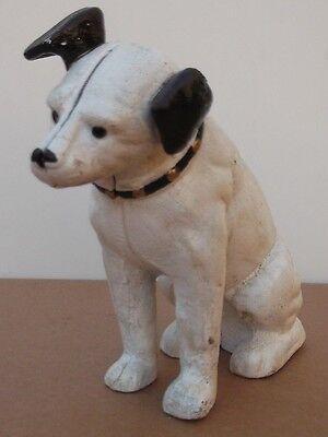 Fantastic  Model of the HMV `Nipper`Dog STATUE Money Box terrier jack russel