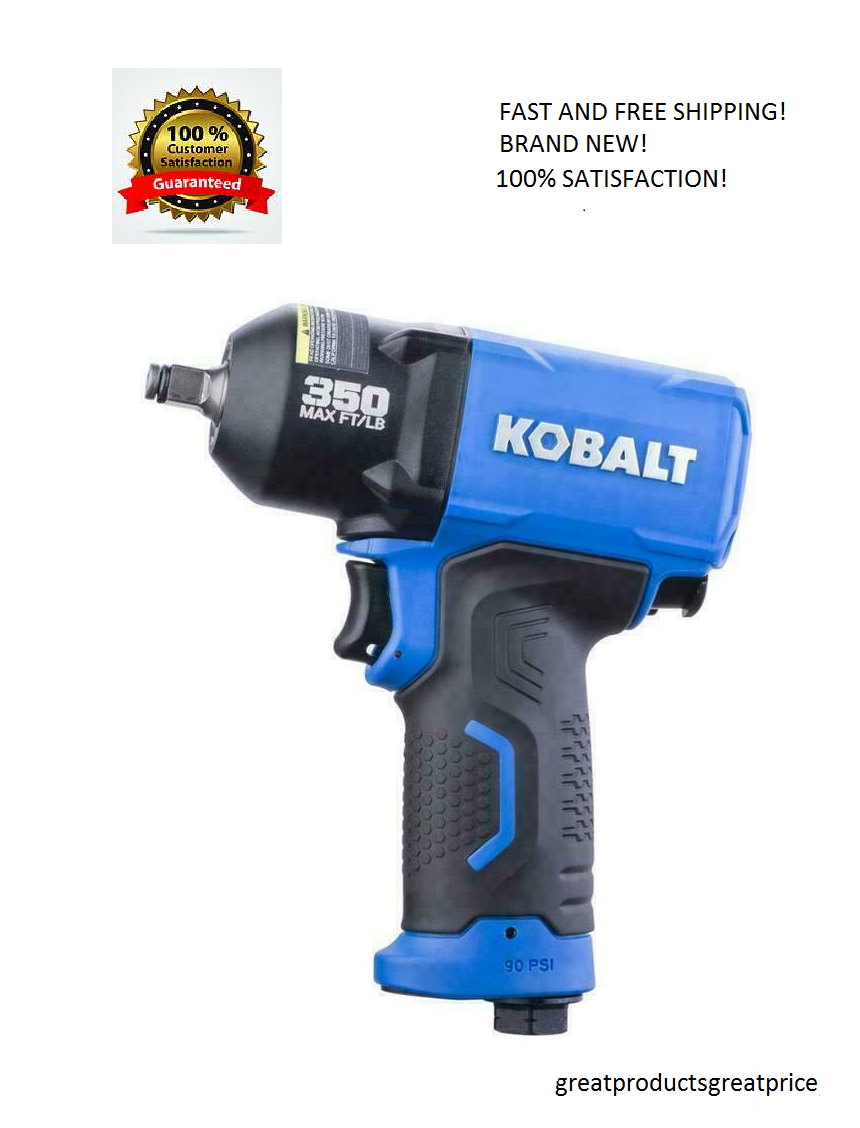 Kobalt Air Impact Wrench Pneumatic 3/8-in Drive  0.375-in 35
