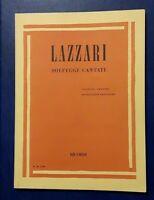 Spartito Lazzari - Solfeggi Cantati - Ricordi -  - ebay.it