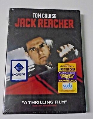 Jack Reacher  Dvd 2012  Tom Cruise  Robert Duvall Brand New Sealed