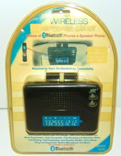 Bluetooth Cellphone Hands Free Car Kit Wireless Speaker Talk & Drive Unopened