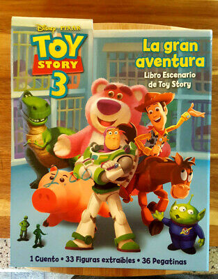 Disney Toy Story 3 Colorforms Play Set IN SPANISH In Espanol Brand New