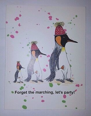 THE PENGUIN PARTY INVITATIONS BRENDA-MURPHY WHIMSICAL GIFT IDEAS 2 PACKS OF 10 - Invitation Ideas