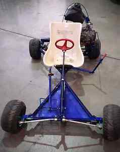 Go kart with motorbike engine Canning Vale Canning Area Preview