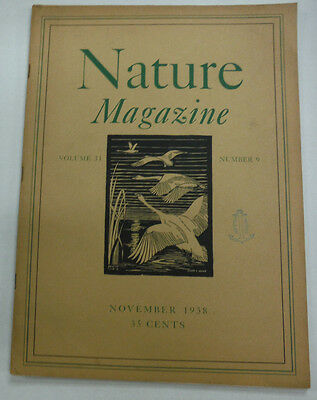 Nature Magazine Indian Summer Poem & Pines In The Wind November 1938 071615R2 - The Week In Spanish