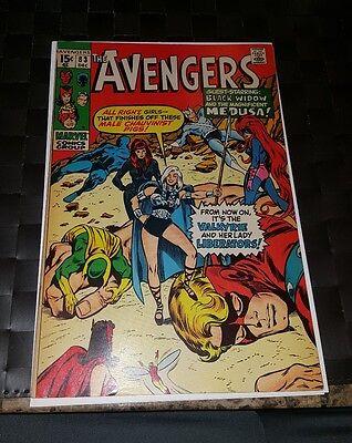 The Avengers #83 (Dec 1970, Marvel) 1st Valkyrie