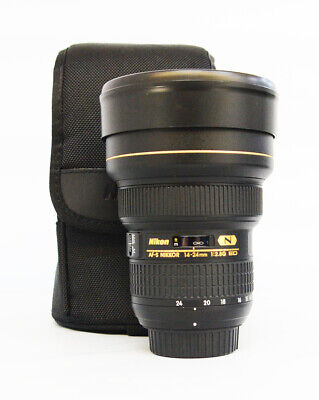 Nikon NIKKOR 14-24mm f/2.8 AS G SWM AF-S IF N ED M/A Lens