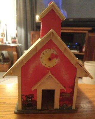 000 Vintage 1971 Fisher Price School House Play Toy #923 Little People
