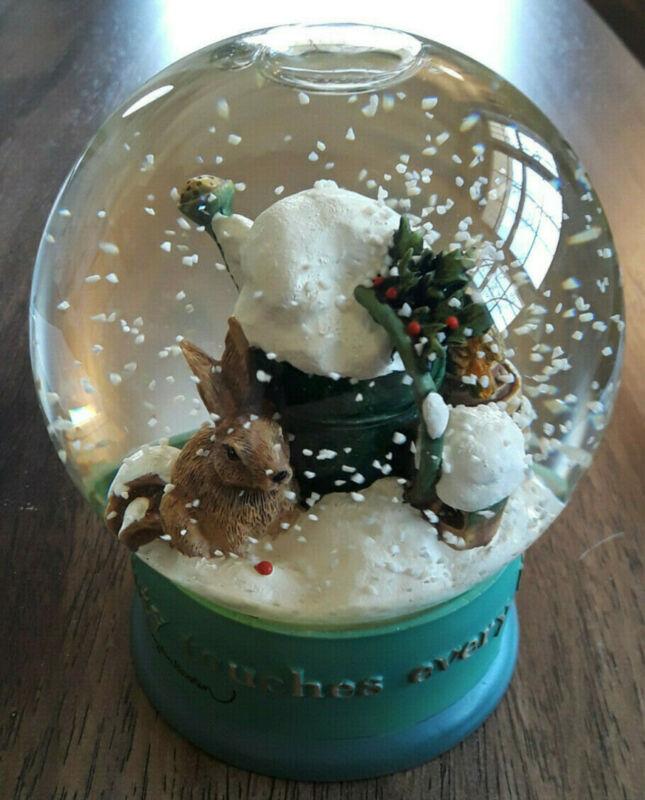 Vintage Marjolein Bastin Snow Globe Nature