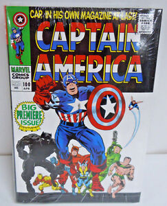 Captain America Volume 1 Omnibus Stan Lee Kirby HC Hard Cover New Sealed $125