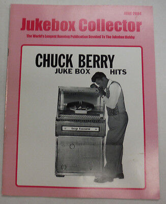 (Jukebox Collector Magazine Chuck Berry Juke Box Hits June 2004 051815R)