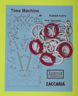 1983 Zaccaria Time Machine pinball rubber ring kit for sale  Eustis