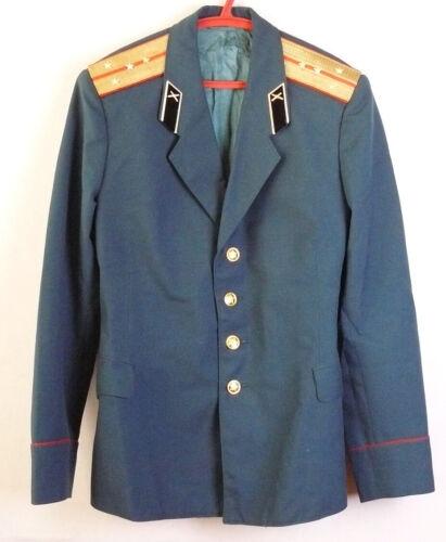 Uniform Jacket Parade Blazer Soviet Russian Army Captain Military Tunic L Size