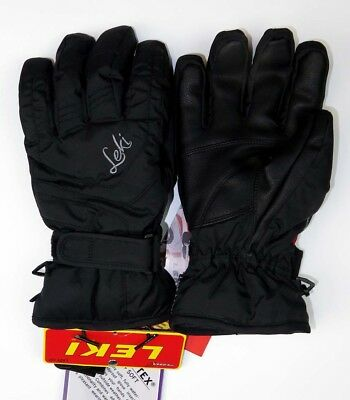 4011729177b NEW  100 Leki Womens Scout Fully Insulated Trigger S Ski Gloves Ladies Black