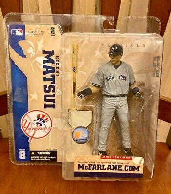 McFarlane's Sportspicks X Series 8 Hideki Matsui New York Yankees 2004 BRAND NEW