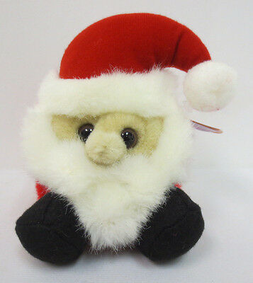 PUFFKINS HO HO SANTA CLAUS BEANIE 1997 COLLECTION RARE COLLECTORS NEW CUTE XMAS