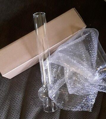 Round Bulge OIL LAMP CHIMNEY  Glass 10