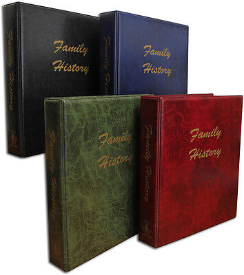 A4 Family History Binder