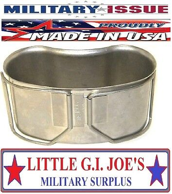 USGI Military Issue 1qt 1993 Arctic Stainless Steel Canteen Cup VERY RARE FIND