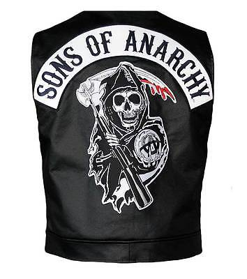 Officially Licensed Sons Of Anarchy Reaper Vest Jax Teller Samcro   Extra Large
