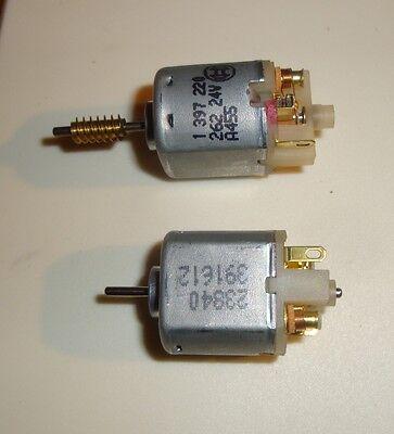 2pcs Slow Spinning 24 Volts Electric Motor Bosch Johnson