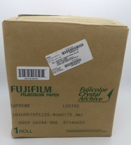 Fujifilm Fujicolor Supreme Lustre Crystal Archive 10in x 575ft Photo Paper